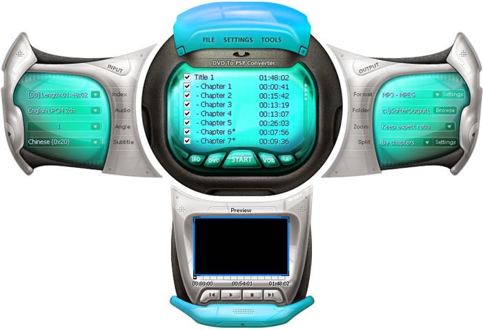 iSofter DVD to PSP Converter